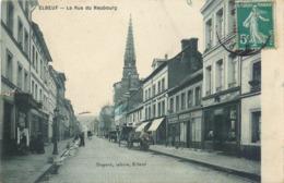 CPA 76 Seine Maritime Elbeuf La Rue Du Neubourg - Elbeuf