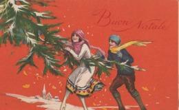 3 Cartoline  - Postcard /   Viaggiate - Sent/  Buon Natale. - Altri