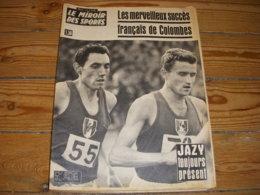 MIROIR Des SPORTS 1099 04.10.1965 ATHLE JAZY BERNARD PIQUEMAL FOOT RENNES - Sport