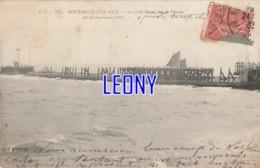 CPA De BOULOGNE SUR MER (62) -  La JETEE OUEST Vue De L'OUEST - 10/11 Septembre 1903  AC 137 - Boulogne Sur Mer