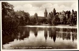 Cp Kaliningrad Königsberg Ostpreußen, Schlossteich Mit Fernsicht Auf Das Schloss - Ostpreussen