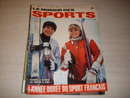 MIROIR Des SPORTS 1164 29.12.1966 BILAN De L'ANNEE SKI GOITSCHEL Christine CARON - Deportes