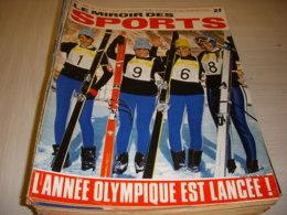 MIROIR Des SPORTS 1217 04.01.1968 SKI MIR HANDBALL FERIGNAC FOOT BOSQUIER KEITA - Deportes