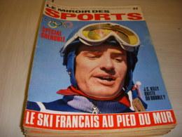 MIROIR Des SPORTS 1222 08.02.1968 JO SPECIAL GRENOBLE SKI KILLY FOOT AJACCIO - Deportes
