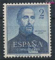 Spanien 1010 (kompl.Ausg.) Postfrisch 1952 Franz Xaver (9368683 - 1931-Heute: 2. Rep. - ... Juan Carlos I