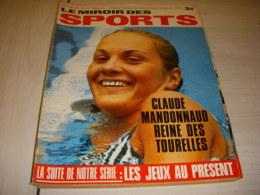 MIROIR Des SPORTS 1244 08.08.1968 NATATION MANDONNAUD RUGBY ALL BLACKS ALLEN - Sport