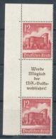 Deutsches Reich Zusammendruck S 263 ** Mi. 32,- - Zusammendrucke