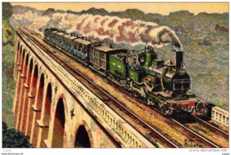 "NORD 1872 TRAIN RAPIDE PARIS-CALAIS  Machine ""Outrance"" 1er Type  Série 2.800 - Treni"