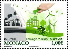 Ref. 363669 * NEW *  - MONACO . 2016. EUROPA CEPT 2016 - ECOLOGIA EN EUROPA - PIENSA EN VERDE - Monaco