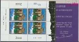 Hongkong 929Klb Kleinbogen (kompl.Ausg.) Postfrisch 2000 Eintritt In Das Jahr 2000 (9350508 - 1997-... Région Administrative Chinoise