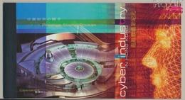 Hongkong 1030-1033MH (kompl.Ausg.) Markenheftchen Postfrisch 2002 Informationstechnologie (9350506 - 1997-... Région Administrative Chinoise