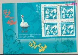 Hongkong Block139 Postfrisch 2005 Hans Christian Andersen (9350502 - 1997-... Région Administrative Chinoise