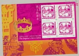 Hongkong Block142 Postfrisch 2005 Hans Christian Andersen (9350499 - 1997-... Région Administrative Chinoise