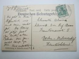 DSW , Deutsches Schutzgebiet , Klarer Stempel Auf Ansichtskarte  Swakopmund 1909 - Colony: German South West Africa