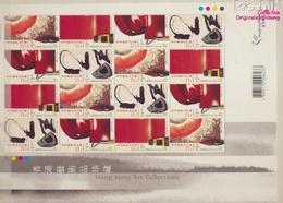Hongkong 1016-1019 Zd-Bogen (kompl.Ausg.) Postfrisch 2002 Kunstsammlung Von Hongkong (9350488 - 1997-... Région Administrative Chinoise
