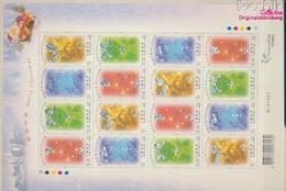 Hongkong 1075-1078 Zd-Bogen (kompl.Ausg.) Postfrisch 2002 Weihnachten (9350483 - 1997-... Région Administrative Chinoise
