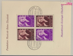 Belgique Bloc 6 (complète.Edition.) Oblitéré 1937 Musique (9350457 (9350457 - Belgio