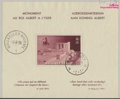 Belgique Bloc 7 (complète.Edition.) Oblitéré 1938 Albert-monument (9350456 (9350456 - Bélgica
