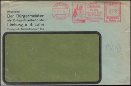 AFS Stadtverwaltung Limburg / Lahn 31.1.35 Bürgermeister Als Ortspolizeibehörde - Police - Gendarmerie