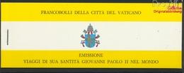 Vatikanstadt MH0-1 (kompl.Ausg.) Gestempelt 1981 Pabstreisen (9368183 - Vaticano (Ciudad Del)