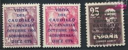 Spanien 985-987 (kompl.Ausg.) Postfrisch 1950 Kanarische Inseln (9368688 - 1931-50 Nuevos & Fijasellos