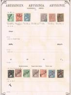 Ethiopie. Ancienne Collection Old Collection Altsammlung Oude Verzameling - Postzegels