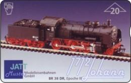 """TWK Österreich Privat: """"Jatt - BR 38 DR"""" Gebr. - Oesterreich"""