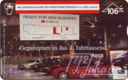 """TWK Österreich Privat: """"Opel Arb.BR - Millenium"""" Gebr. - Oesterreich"""