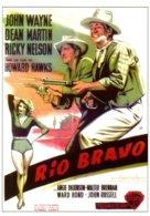 Réf.740/ 1 CPM - Carte Postale Cinéma - Rio Bravo - John Wayne - Dean Martin - Affiches Sur Carte