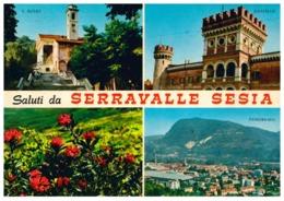 SERRAVALLE SESIA SALUTI DA - Vercelli