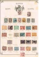 Egypte. Ancienne Collection Old Collection Altsammlung Oude Verzameling - Postzegels