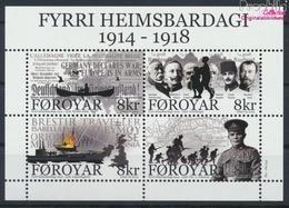 Dänemark - Färöer Block35 (kompl.Ausg.) Postfrisch 2014 1. Weltkrieg (9368504 - Féroé (Iles)