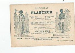 Chromos Chocolat Du Planteur Recettes Utiles - Cioccolato
