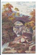 Cyffyng Cyffnyg Bridge- Tuck Oilette 7602 - Wales