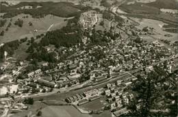 Ansichtskarte Immenstadt (Allgäu) Luftbild Mit Bahnhof 1962 - Immenstadt