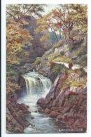 Llanberis Glen - Tuck Oilette 7602 - Wales