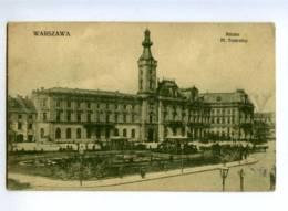 143875 POLAND Varsovie City Hall Ratusz Pl.Teatralny Theatre - Polonia