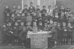 Photo. Ecole Primaire Des Garçons Montigny-Le-Tilleul.  1914-1917- Scan- - Montigny-le-Tilleul