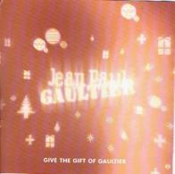 """RARE Carte NOEL 5 X 5 Jean-Paul GAULTIER """"CLASSIQUE """" & """"LE MALE"""" - Perfume Card USA - Duftkarten"""