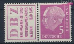 BRD W6 Postfrisch 1955 Heuss (9364329 - [7] République Fédérale