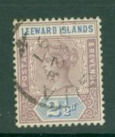 Leeward Is.: 1890   QV    SG3    2½d     Used - Leeward  Islands