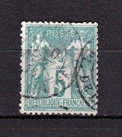 N° 64 Type Sage 5 C Vert (I) N Sous B Bon 2ème Choix Cote De 60 Euros - 1876-1878 Sage (Type I)