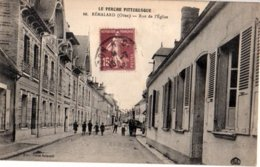 61- REMALARD - Rue De L'eglise (animée) - Remalard