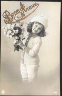 (1644) Bonne Année - Meisje Met De Witte Muts - 1913 - New Year