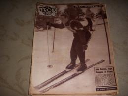 MIROIR Des SPORTS 613 11.02.1957 SKI CHPT FRANCE VUARNET CYCLISME CALENDRIER 57 - Deportes