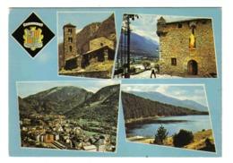 Valls D'Andorra Andorre N°40 CANILLO Chapelle Romane St Jean De Caselles Andorra La Vella Lac D'Engolasters - Andorra