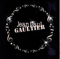 "RARE Carte HOLIDAYS WITH MUSIC 5 X 5 Jean-Paul GAULTIER ""CLASSIQUE "" & ""LE MALE"" - Perfume Card USA - Cartes Parfumées"