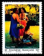 POLYNESIE 1995 - Yv. 474 **   Faciale= 0,77 EUR - Vahinées, D'après Gauguin  ..Réf.POL24662 - Französisch-Polynesien
