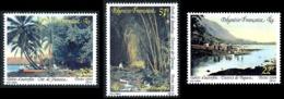 POLYNESIE 1994 - Yv. 459 460 Et 461 **   Faciale= 0,83 EUR - Tahiti D'autrefois (3 Val.)  ..Réf.POL24654 - Polynésie Française