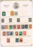 Bolivie. Ancienne Collection Old Collection Altsammlung Oude Verzameling - Postzegels
